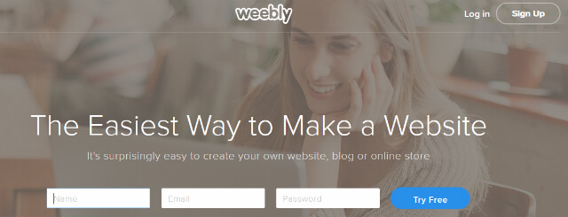 Weebly - Uma Alternativa Wix