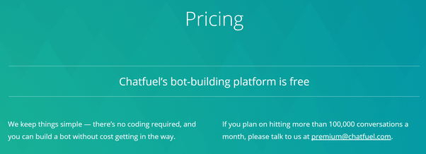 chatfuel-pricing
