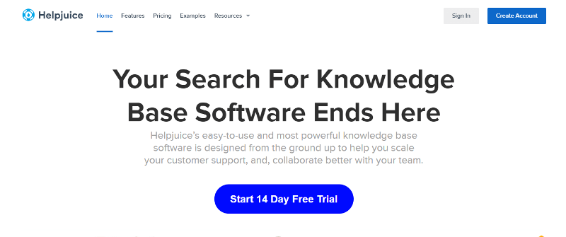 HelpJuice: de Knowledge Base-software